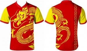 Jersey Printing Merah Naga